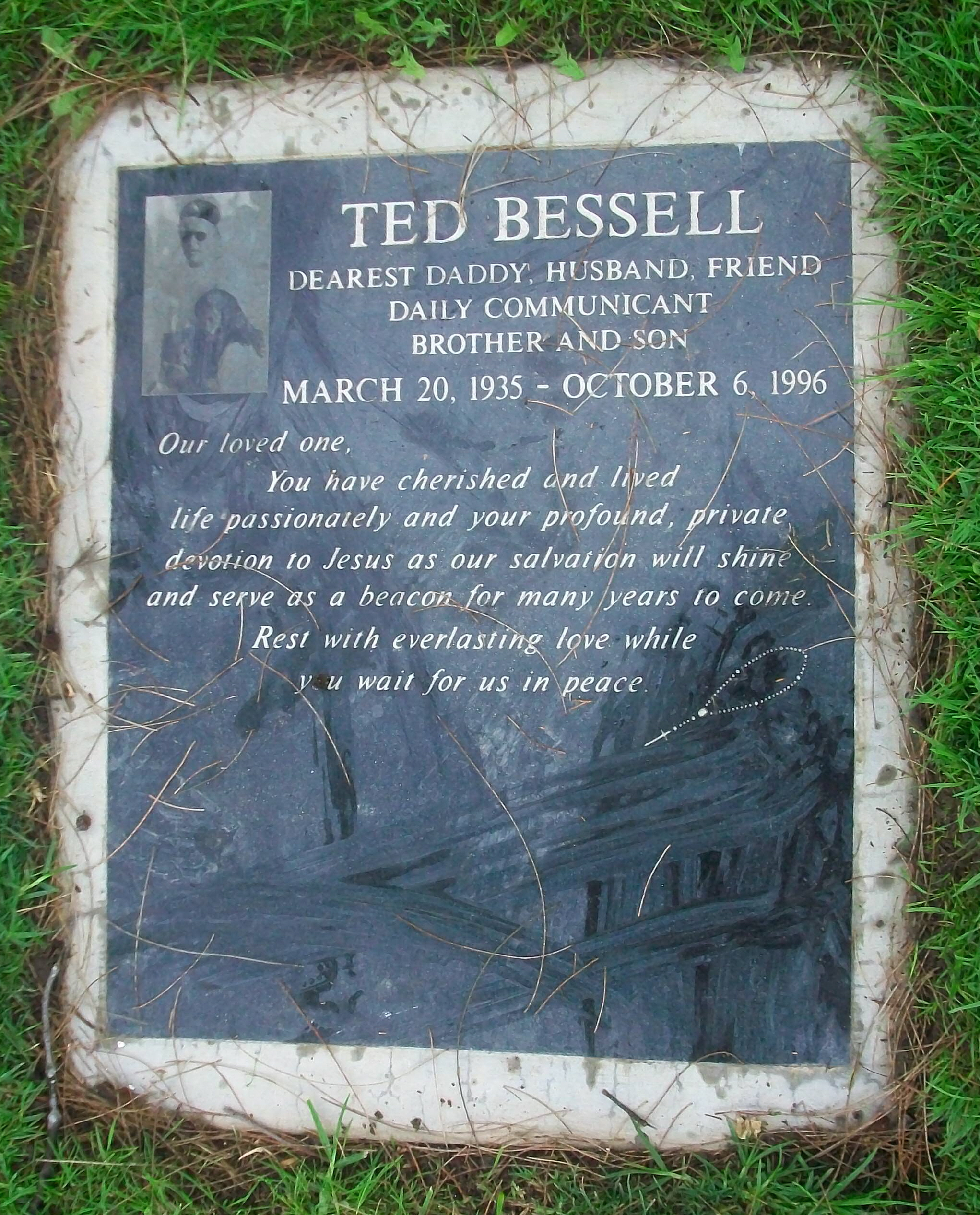 ted bessell net worth