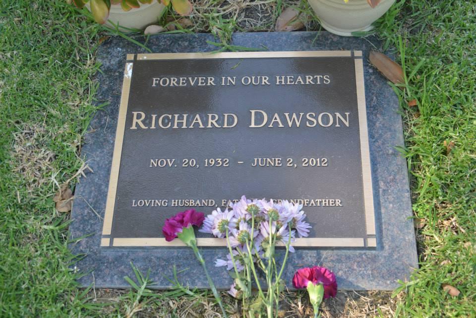 Richard Dawson Gravesite