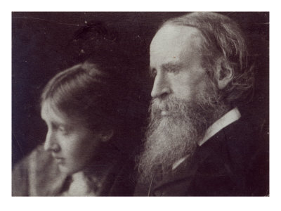 Virginia Woolf and Her Father Sir Leslie Stephen, C.1903