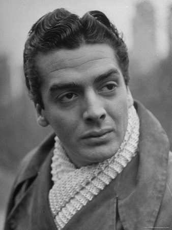 Portrait of Actor Victor Mature