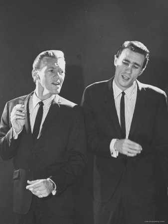 Righteous Brothers Bobby Hatfield and Bill Medley