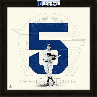 Hank Greenberg, Tigers representation of the player's jersey