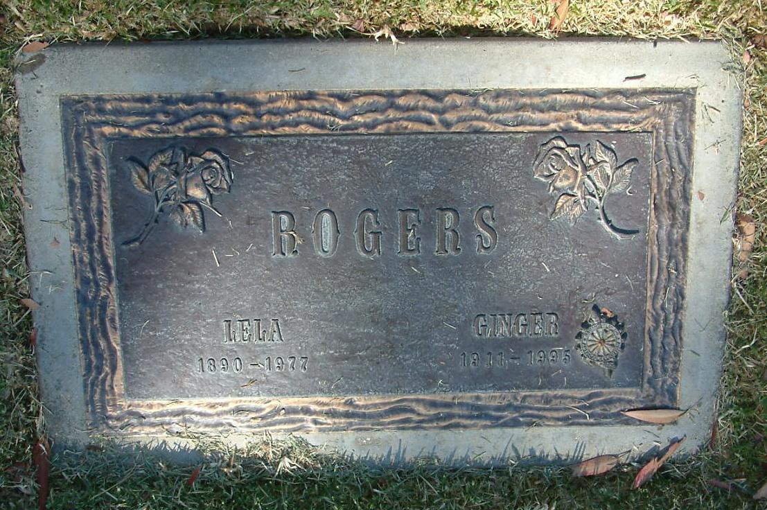 Ginger Rogers Gravesite