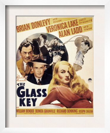 The Glass Key, Brian Donlevy, Alan Ladd, William Bendix, Veronica Lake, 1942