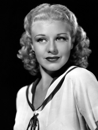 Ginger Rogers, in a Publicity Portrait, c.1936