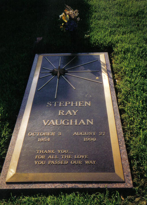 Stevie Ray Vaughan grave