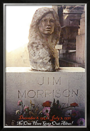 Jim Morrison Gravesite