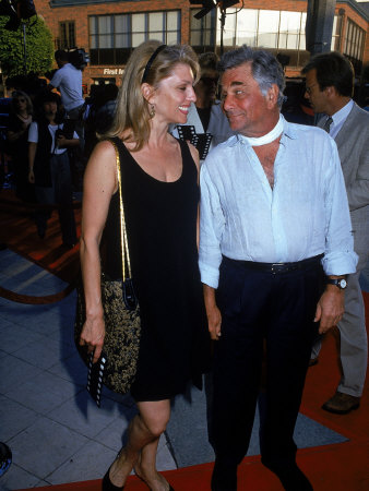 Married Actors Shera Danese and Peter Falk