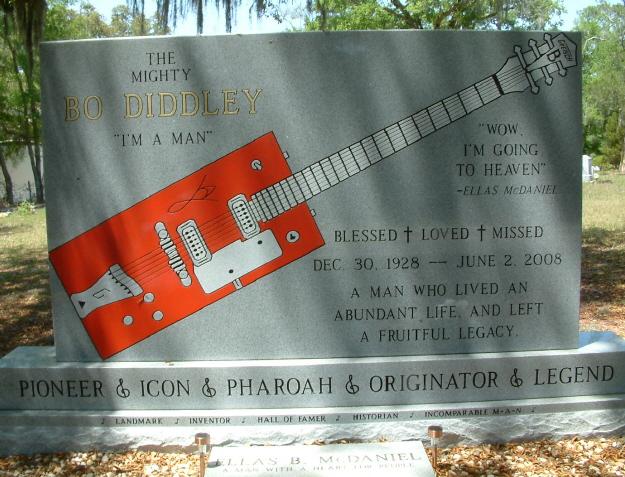Bo Diddley Gravesite