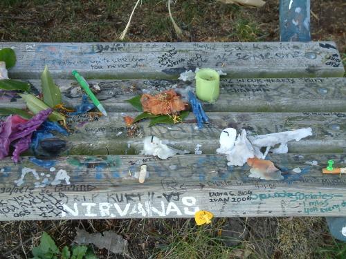 Di atas adalah tempat tinggal mantan kurt cobain di mana pada pagi 7