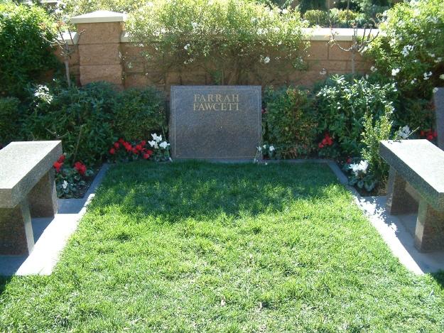 Farrah Fawcett Gravesite