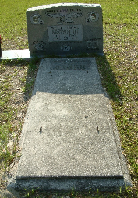 Jerome Brown Gravesite