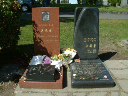 Bruce and Brandon Lee Graves