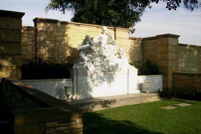 Mary Pickford Gravesite