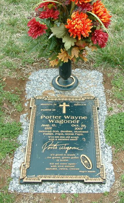 Porter Waggoner Gravesite