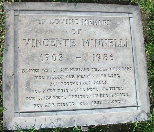 Vincente Minnelli Gravesite